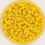miyuki rocailles 8/0 - opaque matte canary