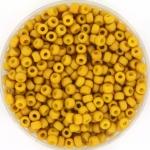 miyuki rocailles 8/0 - opaque matte mustard