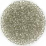 miyuki seed beads 8/0 - transparant taupe