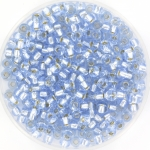 miyuki rocailles 8/0 - silverlined light sapphire