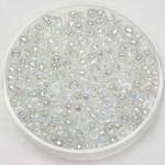 miyuki rocailles 8/0 - transparant ab crystal