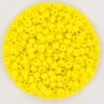 miyuki rocailles 8/0 - opaque yellow