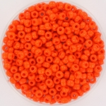 miyuki rocailles 8/0 - opaque orange