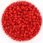miyuki seed beads 8/0 - opaque red