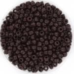 miyuki rocailles 8/0 - opaque chocolate