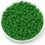 miyuki rocailles 8/0 - opaque green