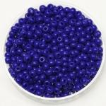 miyuki seed beads 8/0 - opaque cobalt
