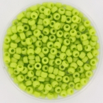 miyuki seed beads 8/0 - opaque chartreuse