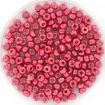miyuki rocailles 8/0 - duracoat galvanized light cranberry