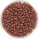 miyuki rocailles 8/0 - duracoat galvanized matte dark berry