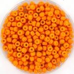 miyuki rocailles 8/0 - duracoat opaque kumquat