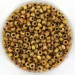 miyuki rocailles 8/0 - opaque picasso yellow