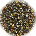 miyuki rocailles 8/0 - Czech coating crystal marea