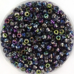 miyuki seed beads 8/0 - Czech coating magic blue