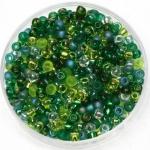 miyuki rocailles 8/0 - mix ever green