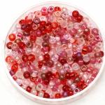 miyuki seed beads 8/0 - mix valentine