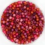 miyuki seed beads 8/0 - warm heart