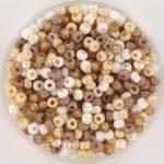 miyuki seed beads 8/0 - soft beige