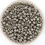 miyuki rocailles 8/0 - plated nickel