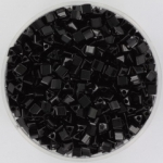 miyuki sharp triangle 8/0 - opaque black