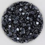 miyuki sharp triangle 8/0 - metallic gunmetal
