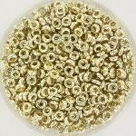 miyuki spacer 3x1.3mm - duracoat galvanized silver