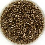 miyuki spacer 3x1.3mm - metallic dark bronze