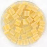 miyuki tila 5x5 mm - transparant matte light topaz ab