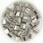 miyuki tila 5x5 mm - plated nickel