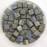 miyuki tila 5x5 mm - metallic matte silver gray
