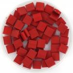 miyuki tila 5x5 mm - metallic matte brick red