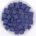 miyuki tila 5x5 mm - opaque matte luster cobalt