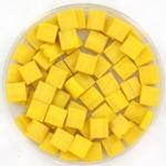 miyuki tila 5x5 mm - opaque matte canary