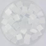 miyuki tila 5x5 mm - silk satin crystal