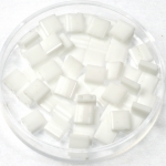 miyuki tila 5x5 mm - opaque white