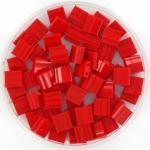 miyuki tila 5x5 mm - opaque red