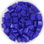 miyuki tila 5x5 mm - opaque cobalt