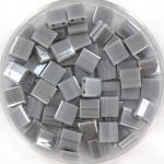 miyuki tila 5x5 mm - opaque luster gray