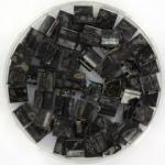miyuki tila 5x5 mm - opaque picasso black