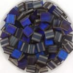 miyuki tila 5x5 mm - Czech coating azuro matte