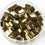 miyuki tila 5x5 mm - metallic dark bronze