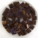 miyuki tila 5x5 mm - metallic iris dark raspberry