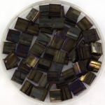 miyuki tila 5x5 mm - metallic iris brown