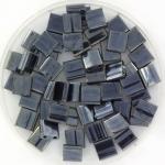 miyuki tila 5x5 mm - metallic light gunmetal