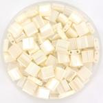 miyuki tila 5x5 mm - ceylon antique ivory pearl