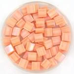 miyuki tila 5x5 mm - opaque luster tea rose
