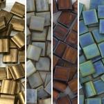miyuki tila 5x5 mm - metallic matte