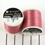 miyuki beading draad B - roze