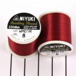 miyuki beading thread B - red