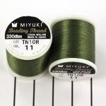 miyuki beading thread B - green